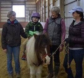 Therapeutic Horsemanship Program Helps Boy Walk on His Own