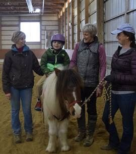 Therapeutic Horsemanship Program Helps Boy Walk on His Own